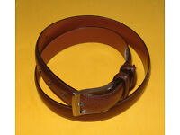 Secuda Men/'s Genuine Full Grain Cowhide Leather Belt 1.5/'/' Wide Size 32-46/'/'
