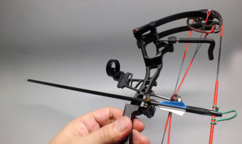 World Smallest Mini Compound Bow W 220G Full Features Bow For Kids Trainings