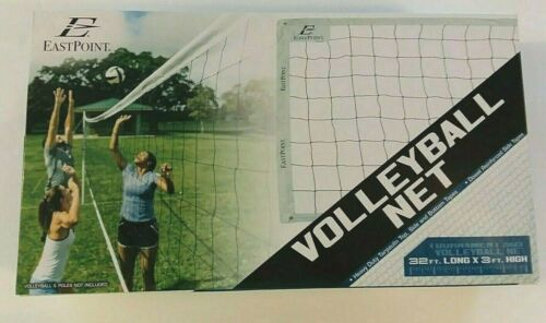 EastPoint Sports Replacement Volleyball Net - Features High Strength Cable
