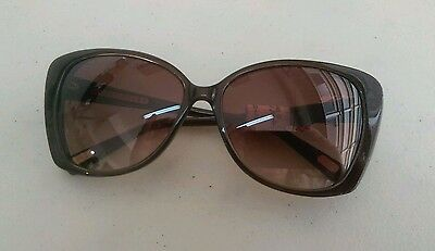 MARC JACOBS MJ347/S Brown Glitter Oversized Butterfly DESIGNER (Marc Jacobs Butterfly Sunglasses)