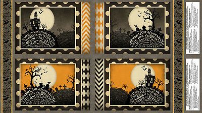 Halloween Haunted House Cotton Fabric Sit A Spell Place Mat Project 24
