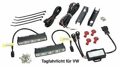 Premium LED Tagfahrlicht 8 Power SMD + R87 Modul für VW TFL10 gebraucht kaufen  Birkenfeld