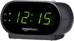 Small Digital Alarm Clock with Nightlight and Battery Backup - BRAND NEW