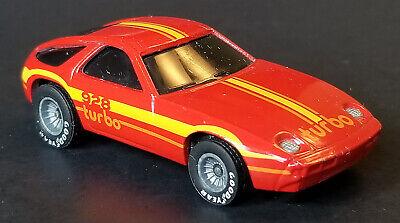 1982 Hot Wheels Hong Kong Porsche P-928 Turbo Real Riders w/ Gray Hubs - WOW