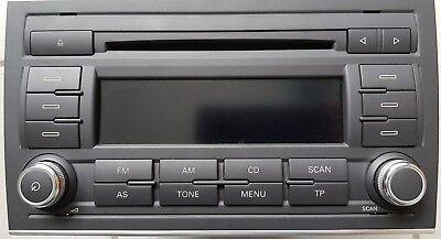 Seat Exeo 3R Radio Autoradio MP3 CD 411 Concert 2 EU BVX 3R0035186B Bosch gebraucht kaufen  Gottenheim