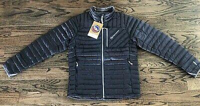 Big Agnes Chilton Lightweight Down Sweater Jacket Men's Asphalt Gray NWT $180
