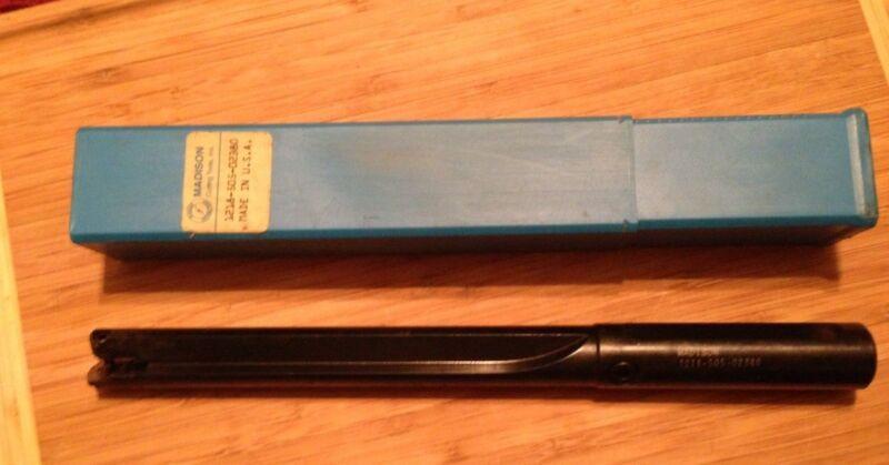 MADISON 1218-505-02380 SPADE DRILL COOLANT THRU .9680min 1.3750max Drill Dia NEW