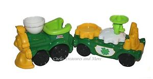 Fisher-Price-Little-People-St-Patricks-Day-TRAIN-New