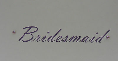 PERSONALISED THANK YOU CARD WEDDING BEST MAN USHER BRIDESMAID FLOWER GIRL ETC
