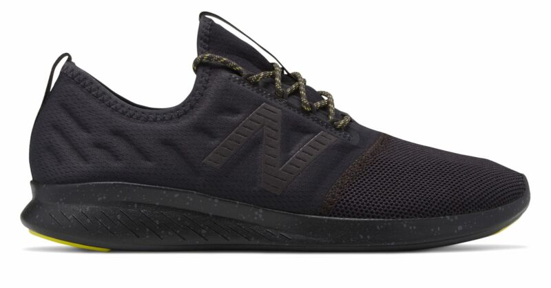 New Balance Men's Fuelcore Coast V4 City Stealth Pack Adult Shoes Black/Green