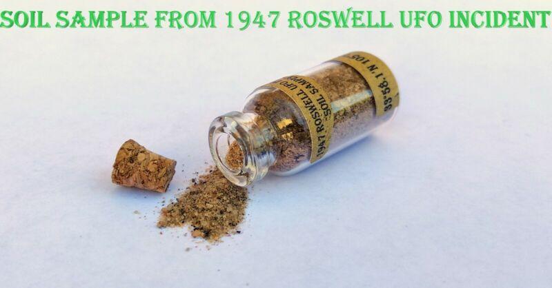 1947 Roswell UFO Incident Soil / Earth Sample
