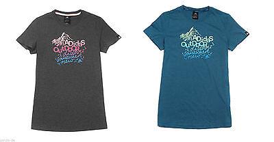 Wolle Feuchtigkeit (adidas Damen T-Shirt Slogan Baumwollmischgewebe besserer Feuchtigkeitstransport)