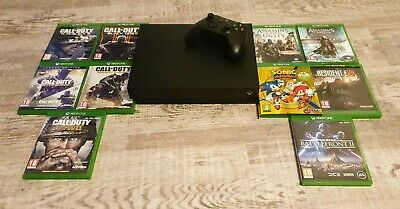 Xbox One X 1TB Console, 10 Games And One Controller.