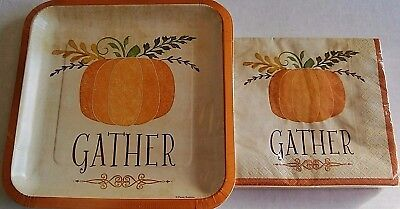 Thanksgiving Paper Plates And Napkins (Thanksgiving Paper Plate and Napkin Set )