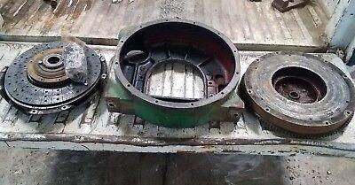 Oliver 1850 Diesel Perkins Engine Clutch Housing And Flywheel