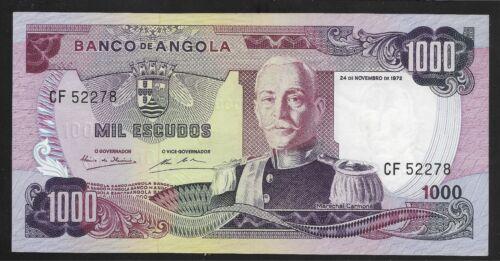 Angola 1972 1000 Escudos Banco de Angola  CU Pk-103