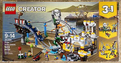 LEGO Creator 31084 PIRATE ROLLER COASTER New 3 in 1 Retired Set * Free Expedited