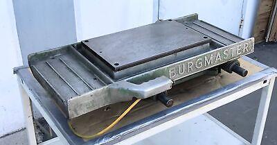 Burgmaster Horizontal Sliding Table Air Logic Index Carriage Drill Spindle