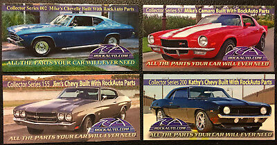 Rockauto Collector Car Magnets   Numbers 002  57  155  200