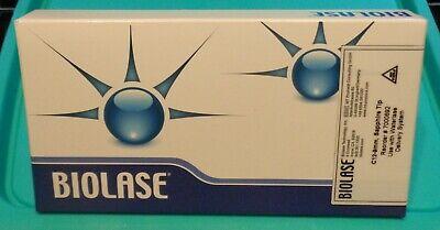 New Biolase Laser Tips Lot Of 2 C3 9mm Flat. Aluminum Shank. New