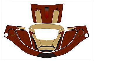 3m Speedglas 9000 9002 X Xf Auto Sw Jig Welding Helmet Wrap Decal Sticker Iron