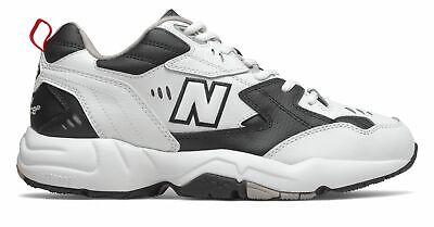 New Balance Men's 608v1 Shoes White with Black