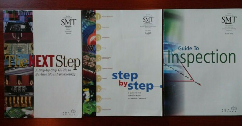 SMT Magazine Supplements, Qty: 3, Surface Mount Technology Guides