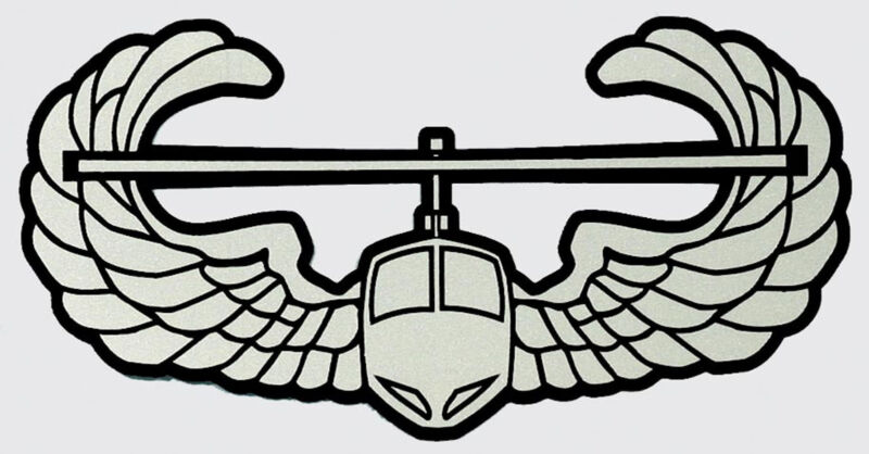 US ARMY AIR ASSAULT STICKER - MADE IN THE USA!!