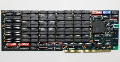 Everex EV-158A 10MB Memory Expansion Card ISA AT 286 386SX 486SLC