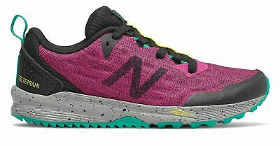New Balance Kid's FuelCore NITREL Big Kids Female Shoes Pink with Black & Green