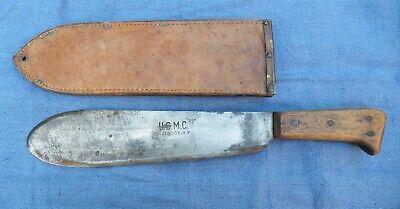 USMC BOLO KNIFE MACHETE WW2 WWII PACIFIC THEATER 1944 BOYT ALL ORIG