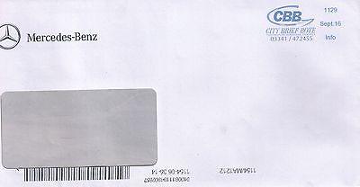 Privatpost CBB City Brief Bote, von Mercedes-Benz 2016 Infopost