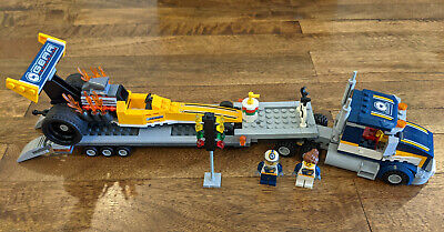 Lego City 60151 Dragster Transporter Complete Pieces No Box No Instructions