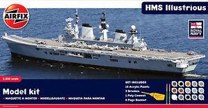 AIRFIX® A50059 HMS Illustrious in 1:350 kompl. mit Farben, Pinsel & Kleber