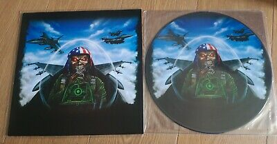 Iron Maiden Brave Dallas Picture Disc Vinyl