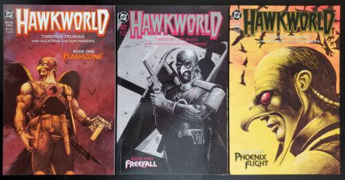 Hawkworld #1-3 (1989, DC) 2 1st App Katar Hol as Hawkman Complete Set Tim Truman