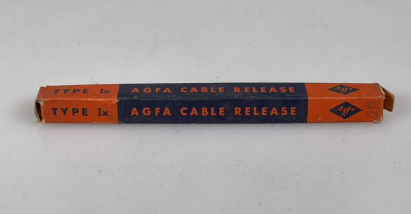 agfa cable release shutter cable NOS in the original box type Ix