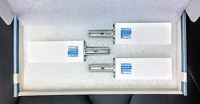 Lot Of 3 Sirona Cerec Inlab Mcxl Sagemax Zirconiazr Blocks S-65-hs-wt-x