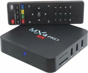 New - HD QUAD CORE ANDROID TV BOXES - 1000's OF PROGRAMS TO WATCH - WHY PAY FOR NETFLIX OR APPLE TV?