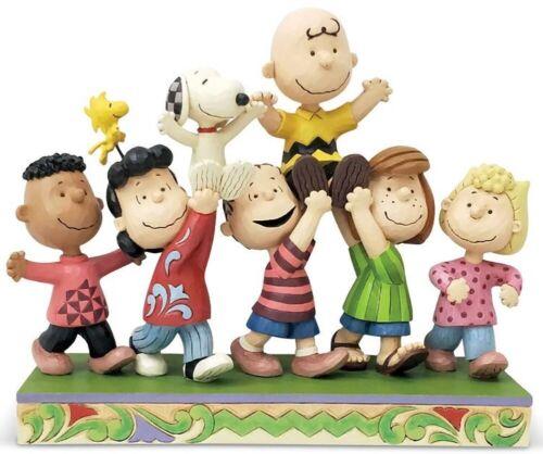 """Peanuts Gang Jim Shore Enesco A Grand Celebration 7.5"""""""