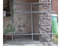Security mesh panels Galvanised, Very heavy Duty, various sizes, ideal for securing windows etc