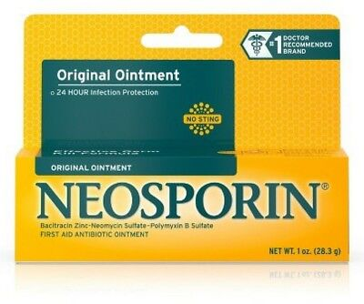 Neosporin Original First Aid Antibiotic Ointment 1 oz