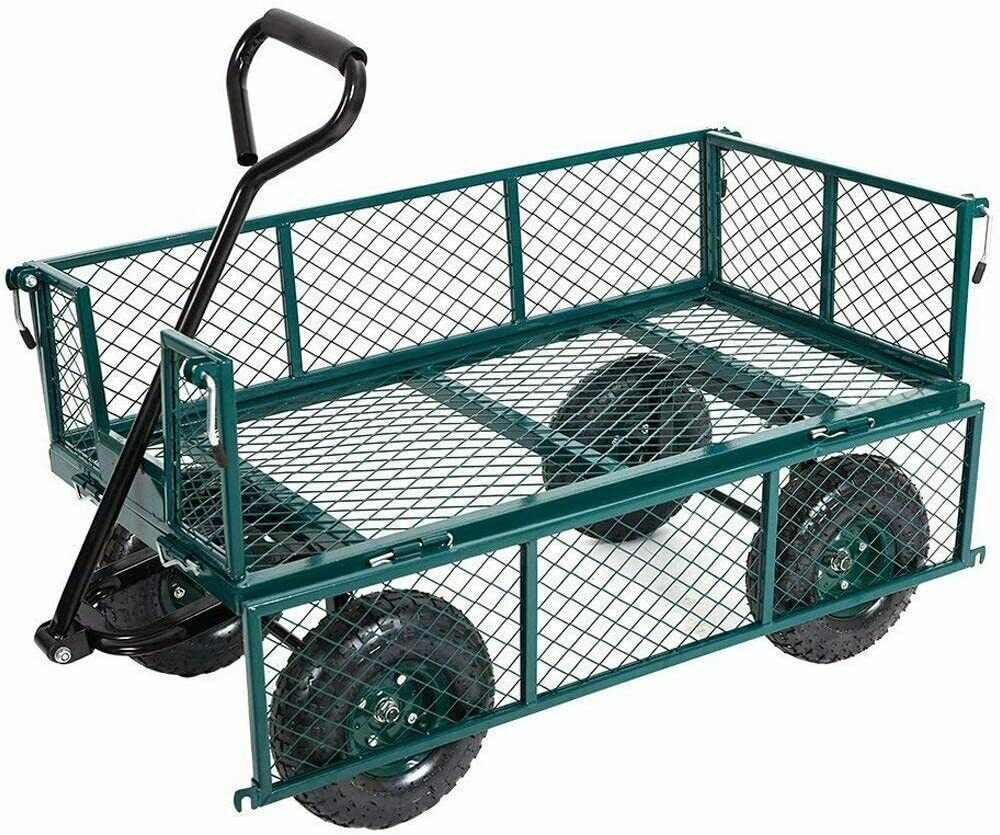 garden utility heavy duty lawn outdoor carts