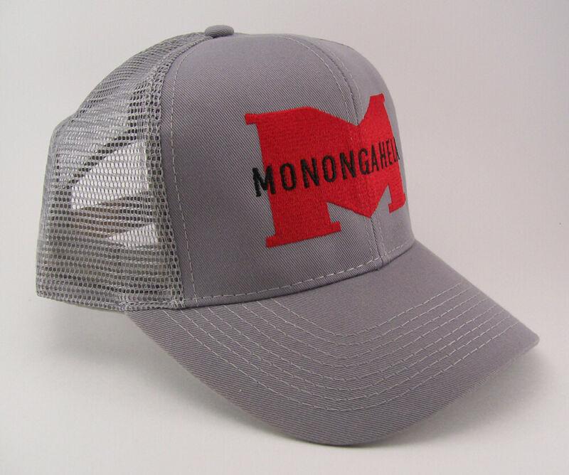 Monongahela Railway Embroidered Railroad Mesh Cap Hat #40-7200gm