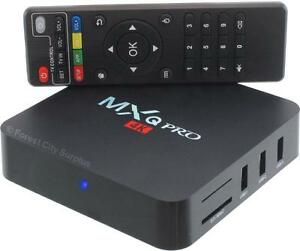 ENJOY THE BEST TV SHOWS AND MOVIES FROM AROUND THE WORLD - New MXQ PRO Android TV Boxes !!!