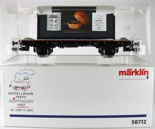 Märklin 58712 Gauge 1 Freight Car New Condition Original Box
