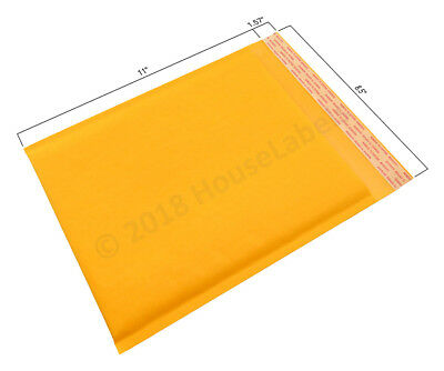1 Bag 2 8.5x12 Kraft Bubble Mailer Padded Envelope Interior 8.5x11