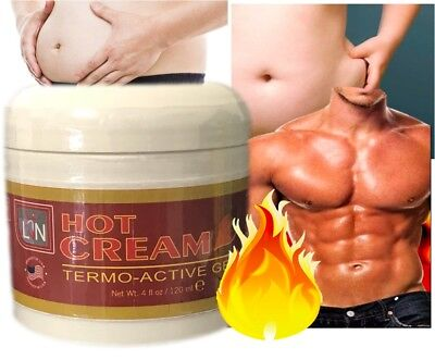 Men Slimming Cream Fat Burning Muscle Belly Stomach Reducer Weight Loss Gel USA