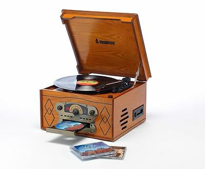 how to set up record player system