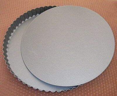 9.5'' Loose Base non Stick  Flan Ring Tart Tartlett Quish Pie Dish Cake Tin